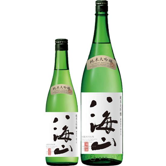 八海山の久々の新商品として純米大吟醸が登場
