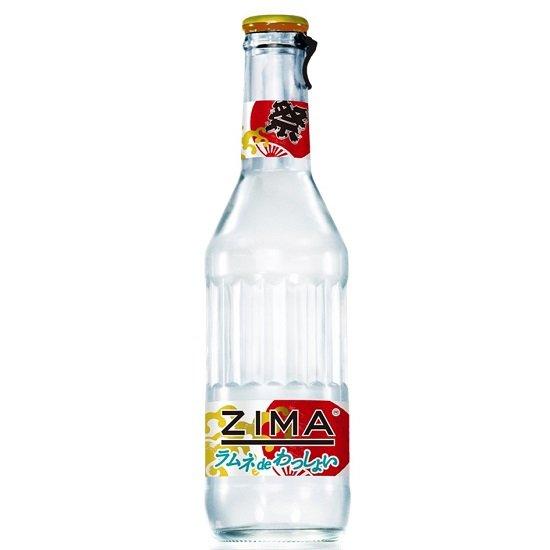 のど越しさわやかなラムネフレーバーのZIMA瓶