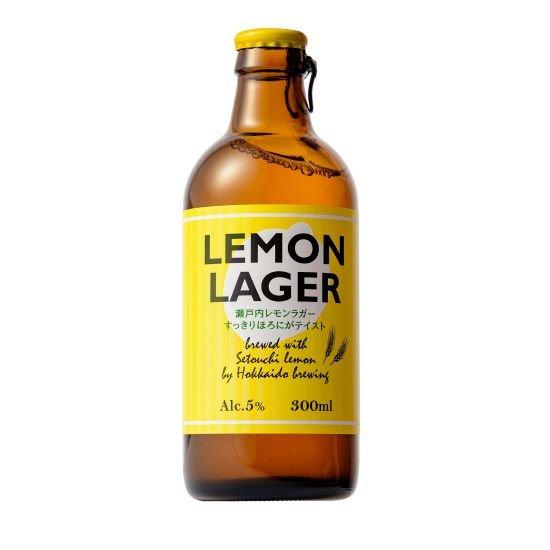 スッキリとしたレモン風味のフルーツビール