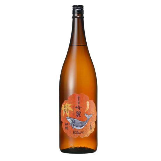 ひと夏熟成させたお酒の味わいが、秋の食材と相性抜群